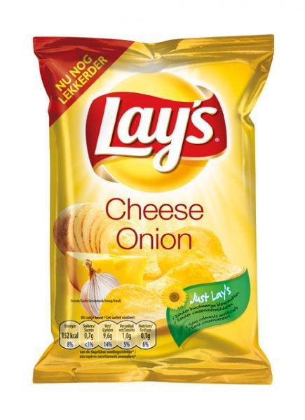 Lays Chips Cheese & Onion 80 x 27,5g