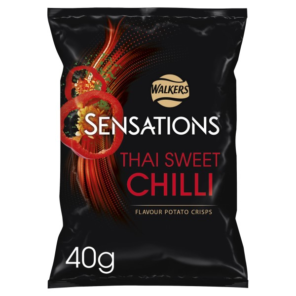 Sensations Thai Sweet Chilli 32 x 40g