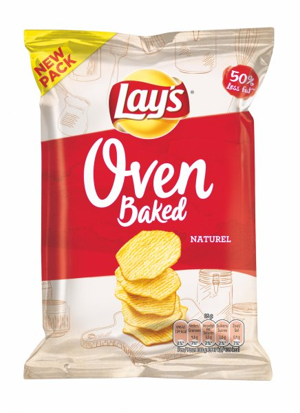 Lays Chips Oven Roasted Naturel 20x35g
